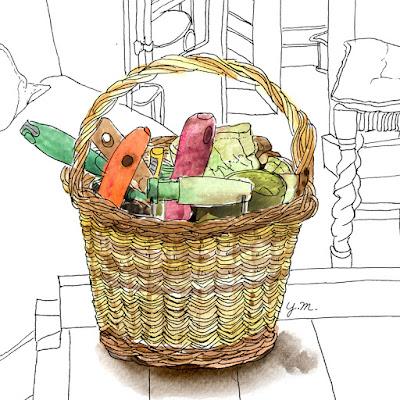garden tools by Yukié Matsushita