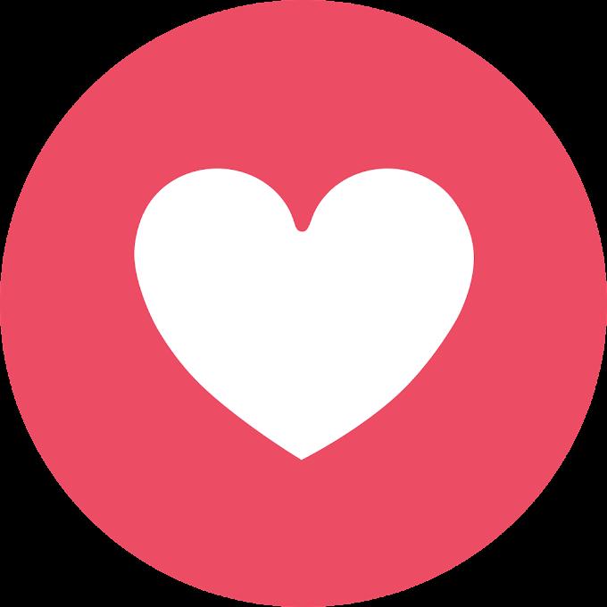 Facebook Messenger Like button, emoji face, heart logo, love, text, heart png free png