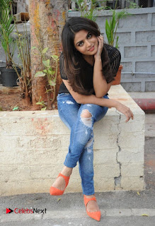 Actress Wamiqa Gabbi Latest Pictures in Ripped Denim Jeans  0032.jpg