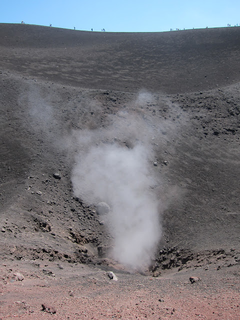 Vulkanen Etna på Sicilien