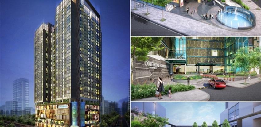 Chung cư Oriental Garden 4.1 Lê Văn Lương