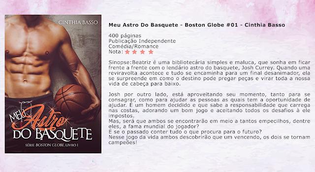 Meu Astro Do Basquete - Boston Globe #01 - Cinthia Basso