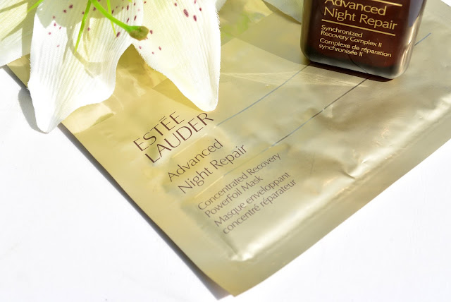 Advanced Night Repair PowerFoil mask review