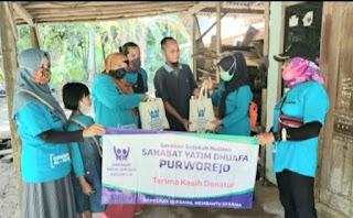 SYD Purworejo Terus Bergerak Bantu Masyarakat, di Situasi PPKM Darurat Covid-19