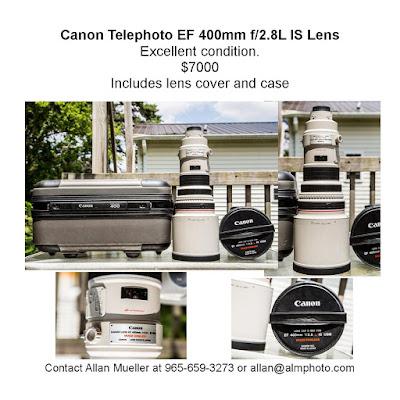 ALM Photo, Canon, lenses, 400mm