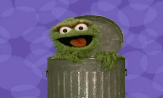 A trash can does not have eyes, but Oscar the Grouch has. Elmo's World Eyes Quiz