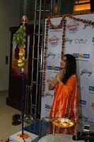 Marath Actrss Urmila Kanitkar Celetes Gudi Padwa in Orange Saree 16.JPG