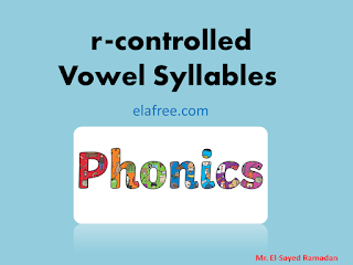 r-controlled Vowel Syllables