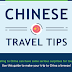 Chinese Travel Tips #infographic