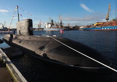 Russian submarine B-603 Volkhov
