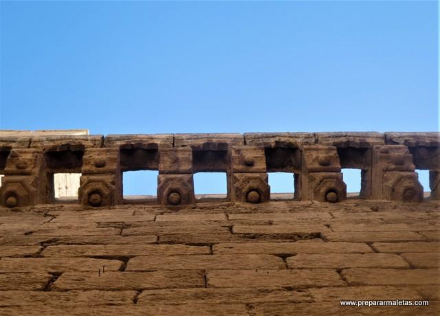detalles arquitectónicos Alcazaba Almería