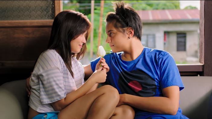 Daniel Padilla as Primo and Kathryn Bernardo as George in 'The Hows of Us'
