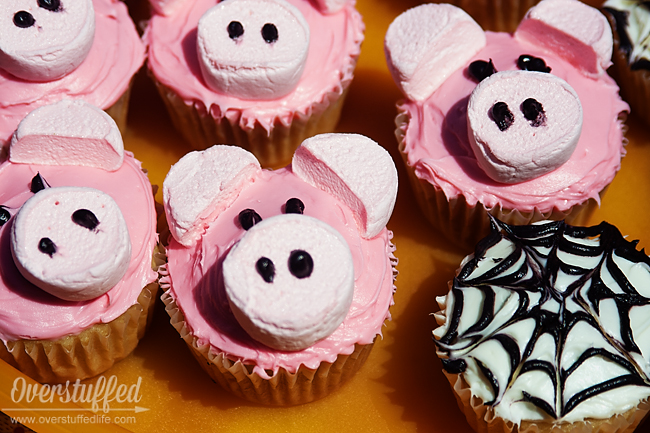 How to make pig cupcakes