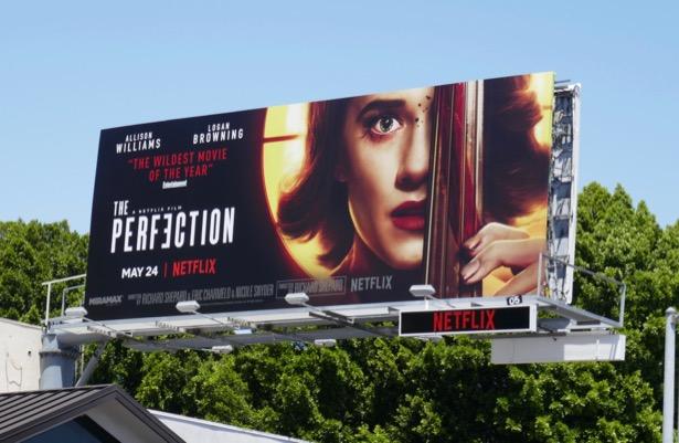 Perfection movie billboard