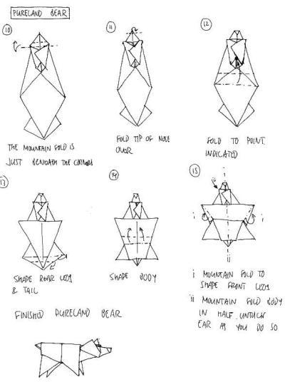 3d Origami Star Diagram