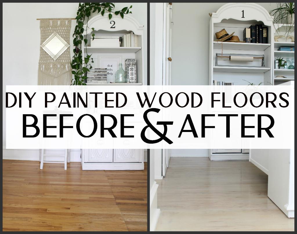 My Diy Painted Floors Part 2 How I