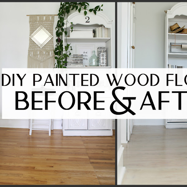 My DIY Painted Floors - Part 2 How I did it!