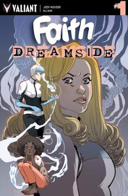 Faith: Dreamside llega en septiembre de la mano de Valiant Comics