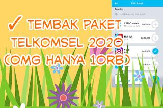 Tembak paket Telkomsel OMG 2020