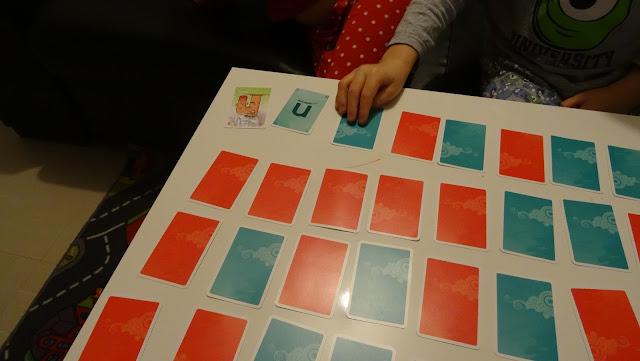 La mémoire des alphas - Jeu de cartes