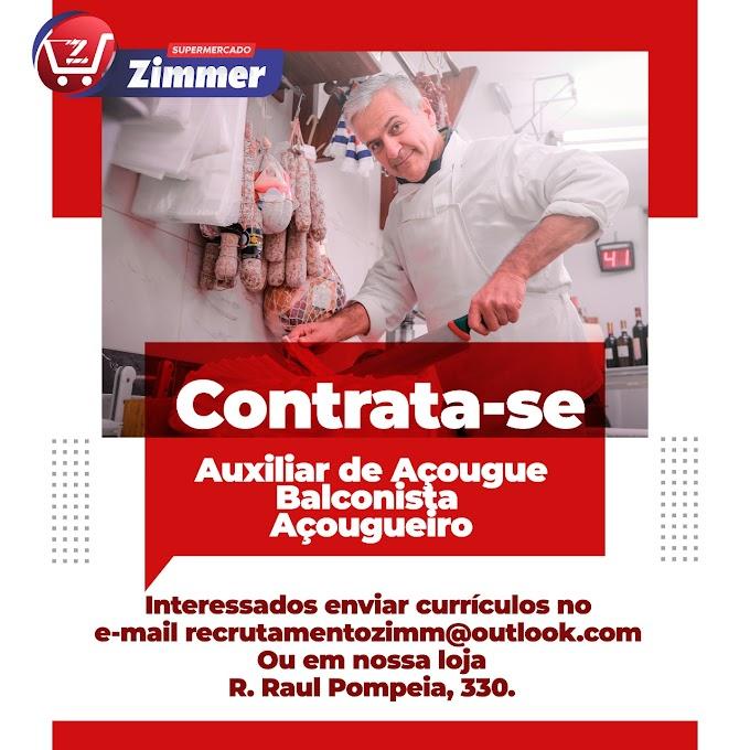 Auxiliar de Açougue, Balconista, Açougueiro, Curitiba, PR