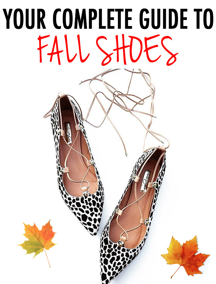 Guide to fall shoes