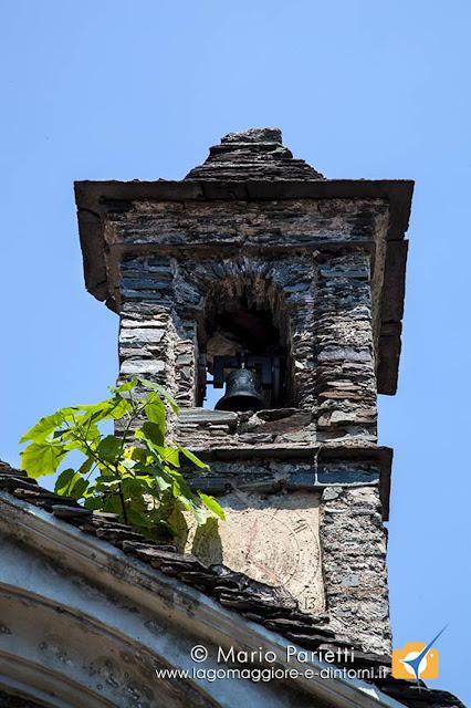 Piero di Curiglia, campanile della chiesetta