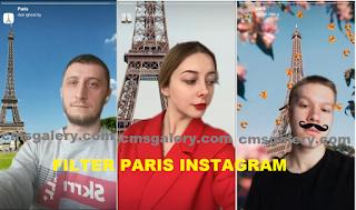 Paris filter Instagram | How to get Paris Effect Filters on Instagram