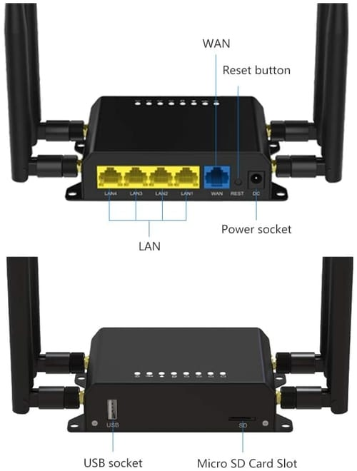 Review Wiflyer WE826-T2 4G LTE Wireless Router