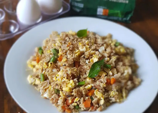 Delicious and soft Egg Upma Recipe at home