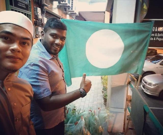 Yougan Mahalingam (Ketua Pemuda Dewan Himpunan Penyokong PAS Perak) baru meninggal dunia sebentar tadi.