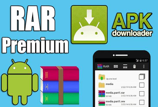 تحميل تطبيق RAR for Android Premium Apk عملاق ضغط وفك ضغط الملفات نسخة مدفوعة مجانا للاندرويد