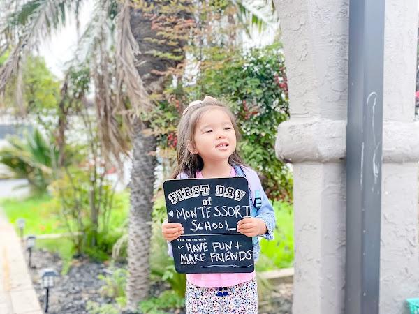 Ella Started Montessori School!