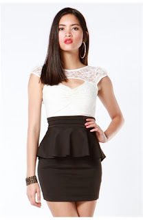 women's peplum