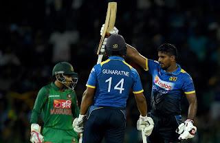 Sri Lanka vs Bangladesh 1st T20I 2017 Highlights