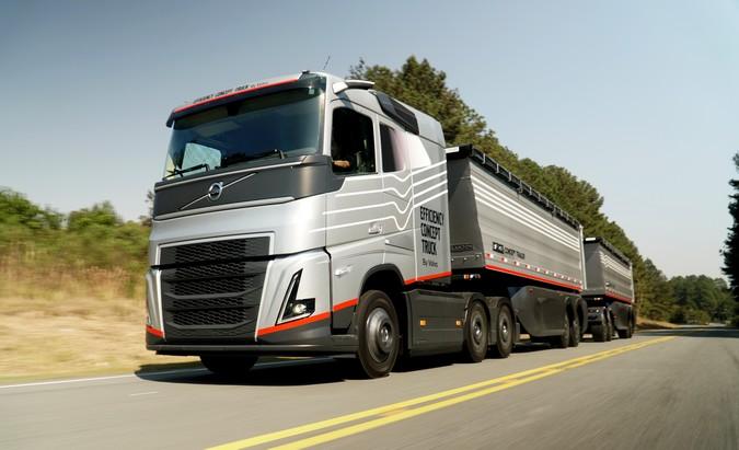 Efficiency Concept Truck: Volvo apresenta o caminhão do futuro para o agronegócio