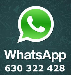 WhatsApp del centro: 630322428