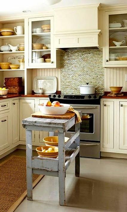 Punto sanitario ideas para colocar una isla en cocinas - Isla para cocinas pequenas ...