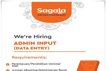 Lowongan Kerja Admin Input Sagala Bandung