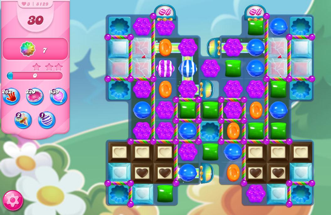 Candy Crush Saga level 8129