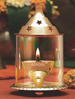 Home Decor - Borosil Akhand Diya