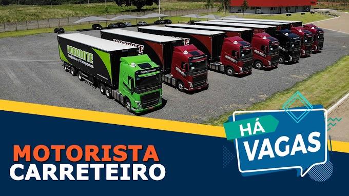 Horizonte Transportes abre vagas para Motorista