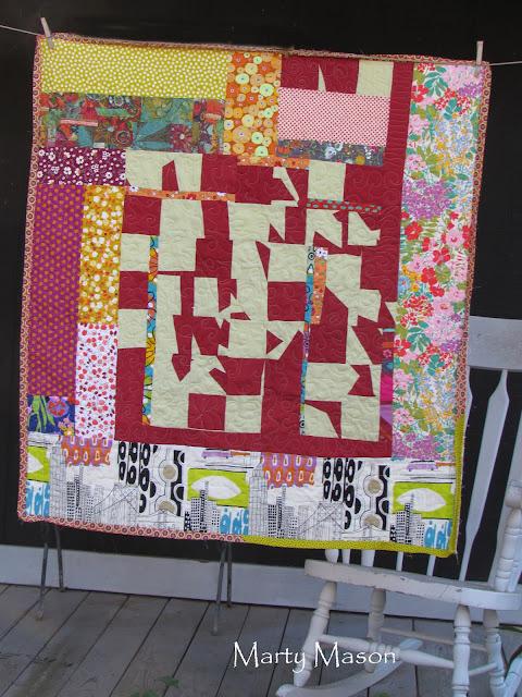 improv patchwork - Marty Mason