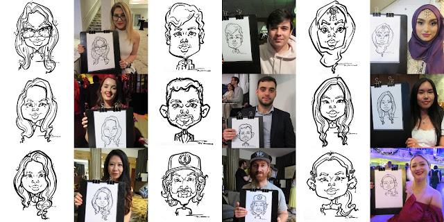 Silu Cartoon - Caricatures form live events 1