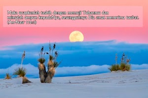 Surah An-Nasr, Ayat 1 - 3