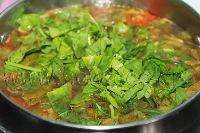 рецепт щавельного супа с пошаговыми фото