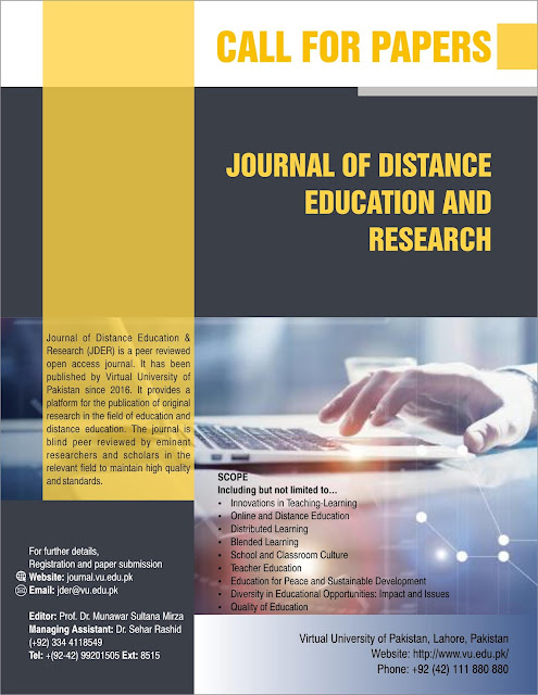 Journal of distance education and Research