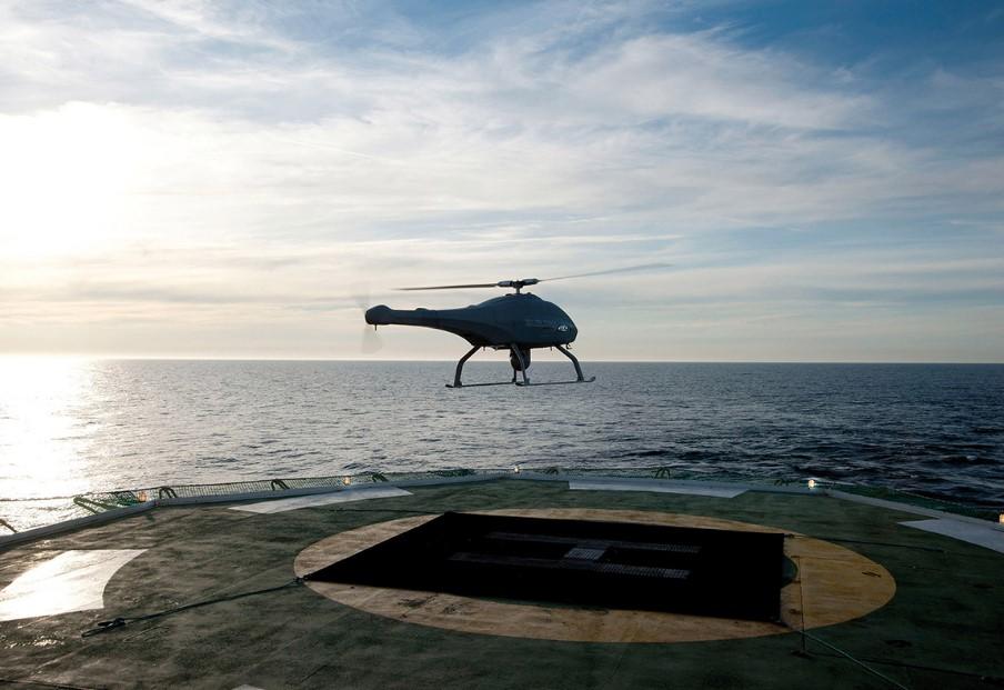 БпЛА V-200 UMS Skeldar навчився автоматично злітати і сідати
