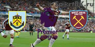 Бёрнли - Вест Хэм Юнайтед смотреть онлайн бесплатно 9 ноября 2019 Бёрнли - Вест Хэм прямая трансляция в 18:00 МСК.