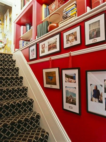 50 Creative Staircase Wall decorating ideas, art frames ... on Creative Staircase Wall Decorating Ideas  id=56749